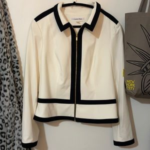 Calvin Klein suit jacket size 14